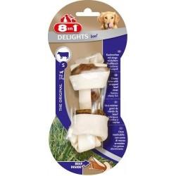 8 in 1 - 8 in 1 Kemik Şeklinde Biftekli Köpek Ödülü ( Small )