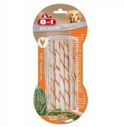 8 in 1 - 8 in 1 Küçük ve Orta Irk Köpekler İçin Ağız Bakım Çubuğu 10 lu 55 GR