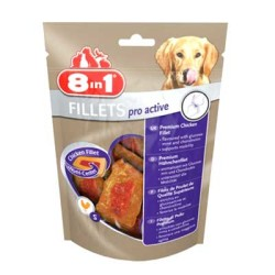 8 in 1 - 8 in 1 Pro Active Tavuk Fleto Köpek Ödül Maması 80 GR