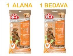 8 in 1 - 8 in 1 Tavuk ve Havuçlu Köpek Ödülü 100 GR ( 1 Alana 1 Bedava )