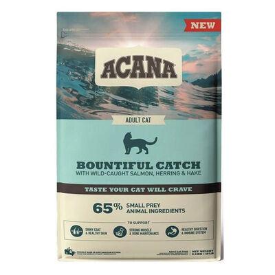 Acana Bountiful Catch Güçlü ve Sağlıklı Kemikler için Balıklı Tahılsız Yetişkin Kedi Maması 4,5 Kg