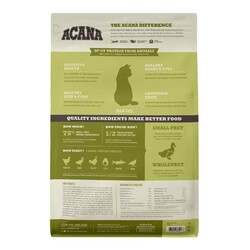 Acana Grasslands Ördekli ve Tavuklu Tahılsız Kedi Maması 1,8 KG - Thumbnail