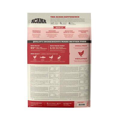 Acana Indoor Entree Hairball Control Tavuklu ve Hindili Kısırlaştırılmış Kedi Maması 4,5 KG