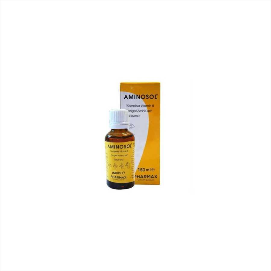 Aminosol Vitamin Ve Aminoasit Solüsyonu 150 ml