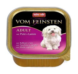 Animonda - Animonda Vom Feinstein Hindi ve Kuzu Etli Köpek Konservesi 150 GR