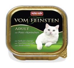 Animonda - Animonda Vom Feinsten Hindi Tavşanlı Kedi Konservesi 100 GR