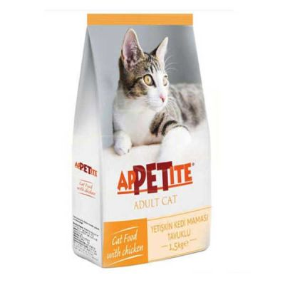 Appetite Tavuk Etli Kedi Maması 1,5 Kg