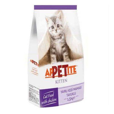 Appetite Tavuk Etli Yavru Kedi Maması 1,5 Kg