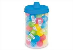 Flip - Barattonlo Renkli Küçük Top Kedi Oyuncağı 1 Adet