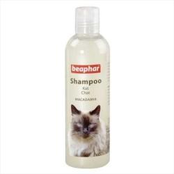 Beaphar - Beaphar Avustralya Fındığı Yağlı Kıtık Çözücü Tüy Parlatıcı Kedi Şampuanı 250ML