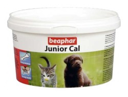 Beaphar - Beaphar Junior Cal Yavru Kedi ve Köpekler İçin Vitamin 200 GR