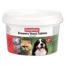 Beaphar - Beaphar Kedi - Köpekler için Brewers Yeast Sarımsaklı Tablet 250 Adet