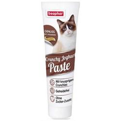 Beaphar - Beaphar Kıtırlı Yoğurtlu Kedi Vitamin Macunu 100gr