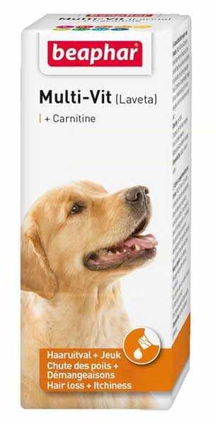 Beaphar Laveta Carnitine Deri ve Tüy Sağlığı Köpek Vitamini 50 ML