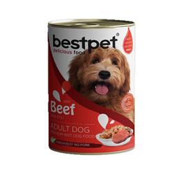 Best Pet Biftekli Köpek Konservesi 400 GR - Thumbnail