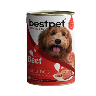 Best Pet Biftekli Köpek Konservesi 400 GR