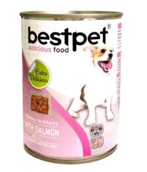Best Pet - Best Pet Somon Balıklı Köpek Konservesi 415 GR
