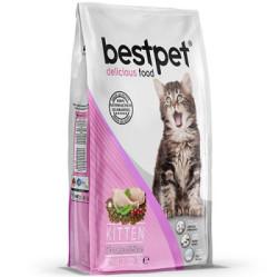 Best Pet - Best Pet Tavuklu Ve Pirinçli Yavru Kedi Maması 1 KG