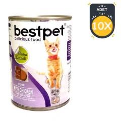 Best Pet - Best Pet Yavru Kedi Konservesi 400 GR x 10 Adet