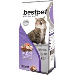 Best Pet - BestPet Karışık Etli Kedi Maması 1 KG