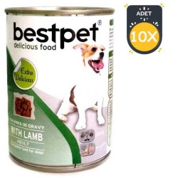 Best Pet - BestPet Kuzu Etli Köpek Konservesi 415 GR * 10 Adet