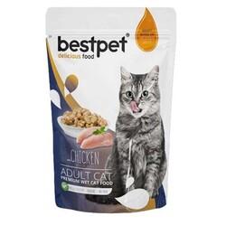 Best Pet - Bestpet Tavuklu Jelly Kedi Yaş Maması 85 GR