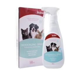 Bioline - Bioline Kedi Köpek İçin Koku Giderici Deodorant 500 Ml