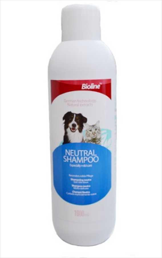Bioline Kedi ve Köpek İçin Doğal Şampuan 1 LT