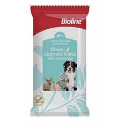 Bioline - Bioline Kedi Ve Köpek Islak Temizlik Mendili 10 Adet
