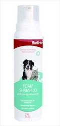 Bioline - Bioline Kedi ve Köpekler İçin Köpük Şampuan 220 GR