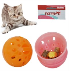 Bioline - Bioline Meyan Kökü Kokulu Kedi Oyun Topu