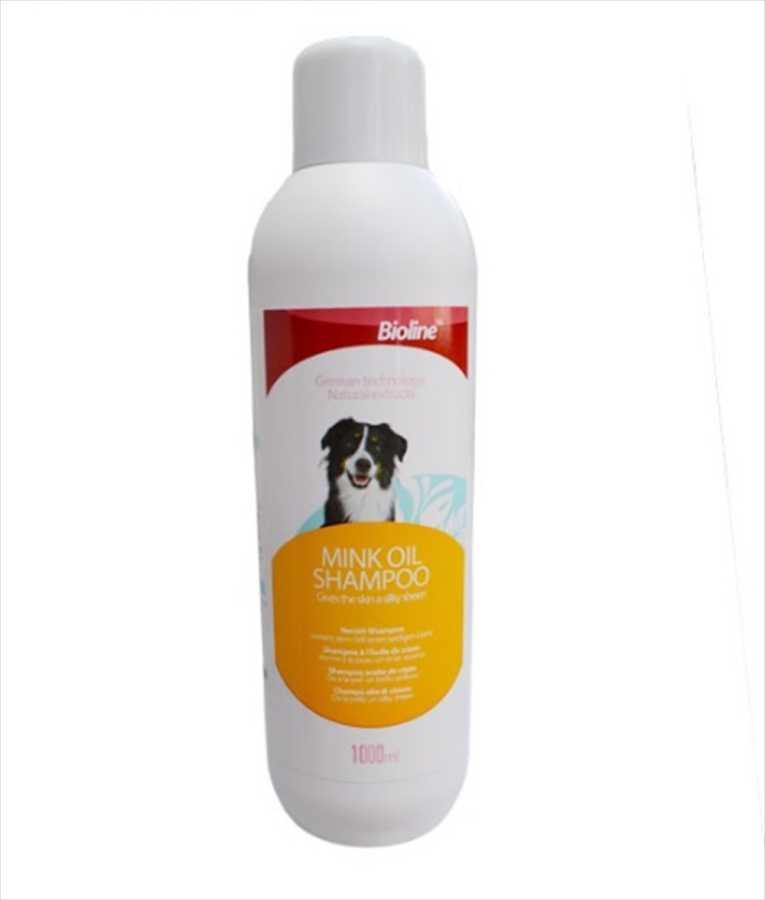 Bioline Vizon Yağı Özlü Köpek Şampuanı 1 LT