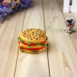 Bobo - Bobo A076 Hamburger Köpek Oyuncağı - Small