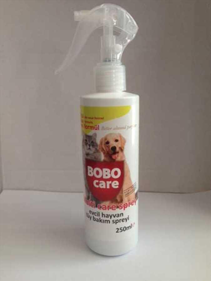 Bobo Care Kedi ve Köpekler İçin Tüy Bakım Spreyi 250 ML