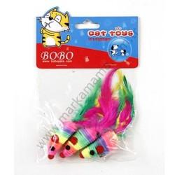 Bobo - Bobo İpli Fare Kedi Oyuncağı