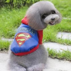 Bobo - Bobo Köpekler İçin Süpermen Desenli Sweatshirt