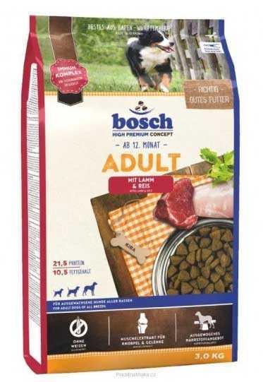 Bosch Kuzu Etli Köpek Maması 3 KG