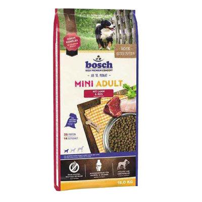 Bosch Glutensiz Kuzu Etli Küçük Irk Köpek Maması 15 KG