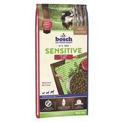 Bosch - Bosch Sensitive Kuzu Etli Köpek Maması 15 KG
