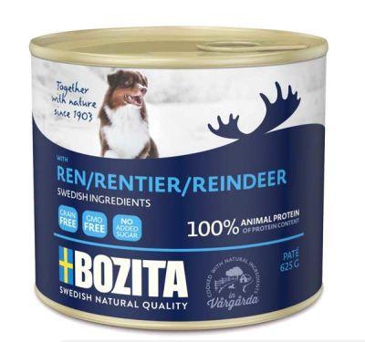Bozita ReinDeer Ren Geyikli Yaş Köpek Maması 625 GR