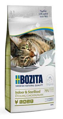 Bozita Indoor Sterilised Tavuklu Kısırlaştırılmış Yetişkin Kedi Maması 2 KG