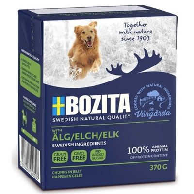 Bozita Naturals ELK Kanada Geyikli Köpek Konservesi 370 Gr
