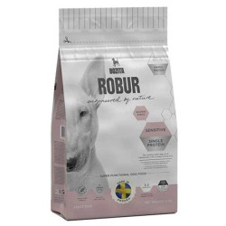 Bozita - Bozita Robur Sensitive Single Protein Somonlu Köpek Maması 12.5 KG