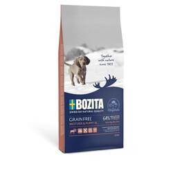 Bozita Tahılsız Geyikli Anne ve Yavru Köpek Maması 12 KG - Thumbnail