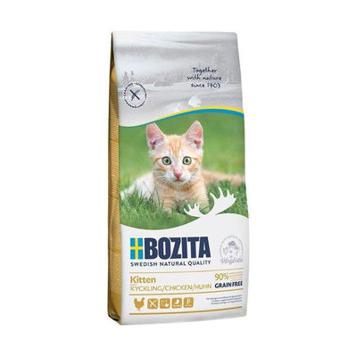 Bozita Tahılsız Tavuklu Yavru Kedi Maması 2 KG