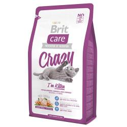 Brit Care - Brit Care Crazy Tavuklu Yavru Kedi Maması 2 KG