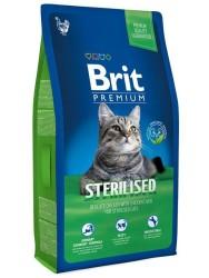 Brit Care - Brit Premium Kısırlaştırılmış Kediler İçin Özel Formüllü Kedi Maması 8 KG