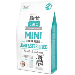 Brit Care - Brit Care Mini Light Tahılsız Küçük Irk Köpek Maması 2 KG