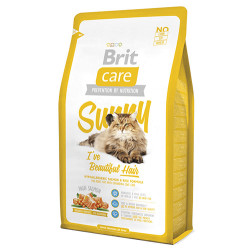 Brit Care - Brit Care Parlak ve Güzel Tüyler İçin Somonlu Kedi Maması 2 KG
