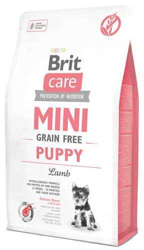 Brit Care Tahılsız Küçük Irk Kuzu Etli Yavru Köpek Maması 2 KG